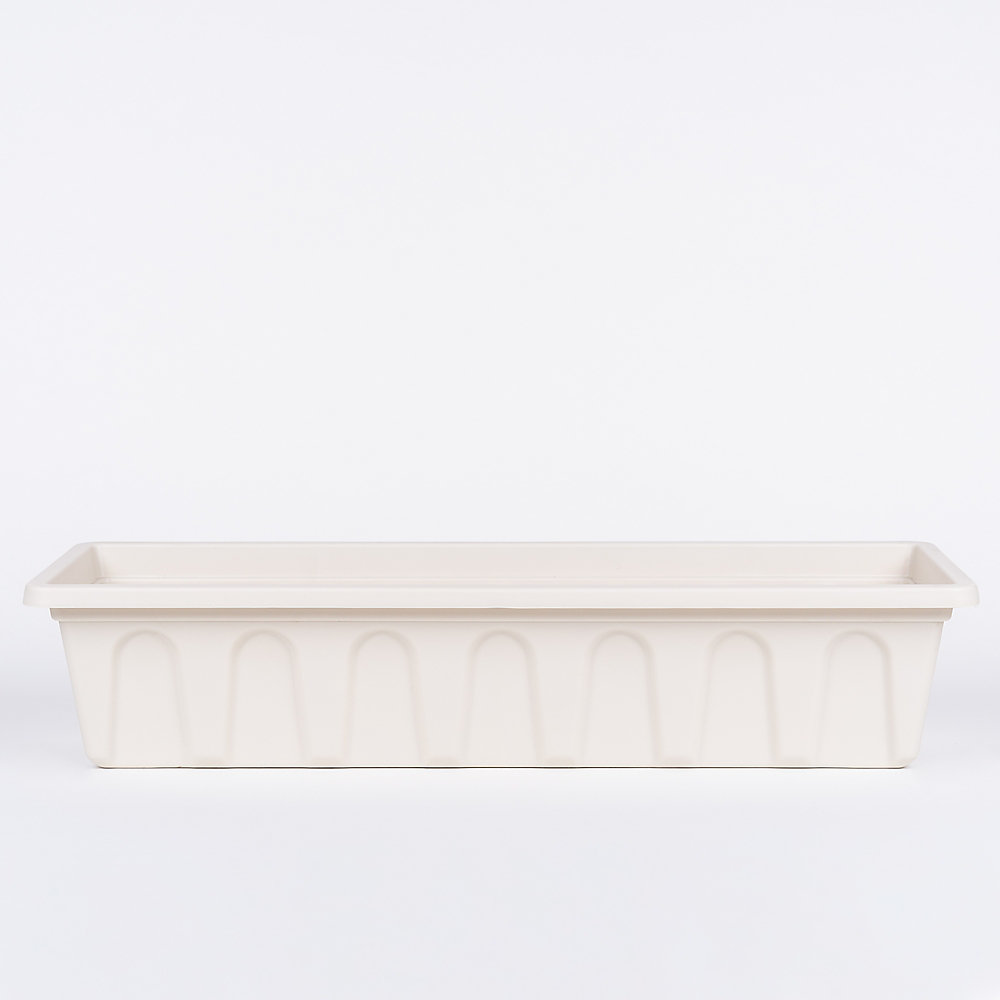 24-inch Bal Planter with Bracket in Linen