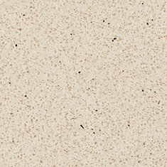 Paloma Bisque 96-inch x 48-inch Laminate Countertop in Etchings Finish