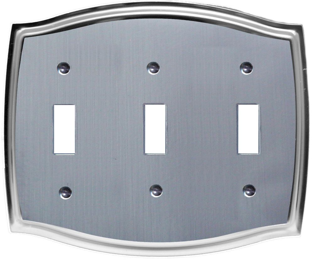 Etched Steel Triple Toggle