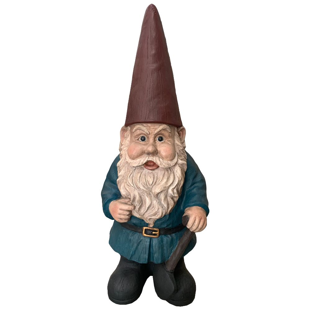 Garden Statues Home Depot: Angelo Décor Traditional Gnome Statue