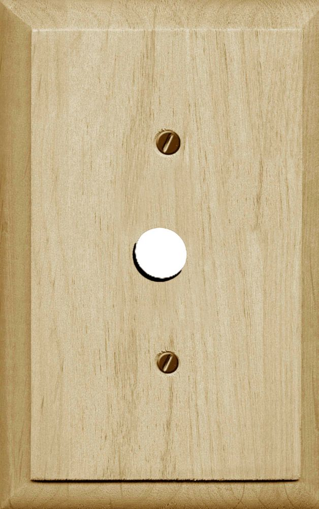 Traditional Unfinished Wood Dimmer