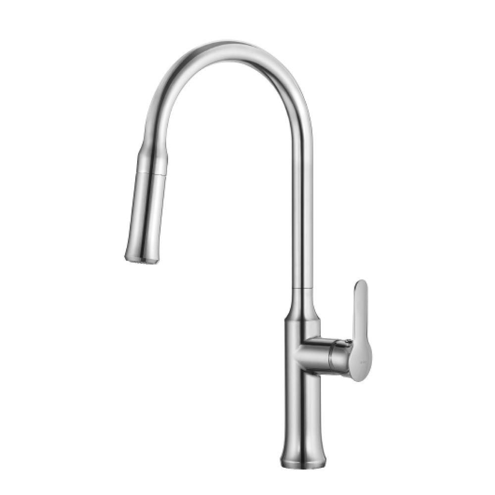 Nola Single Lever Pull-down Kitchen Faucet Chrome Finish