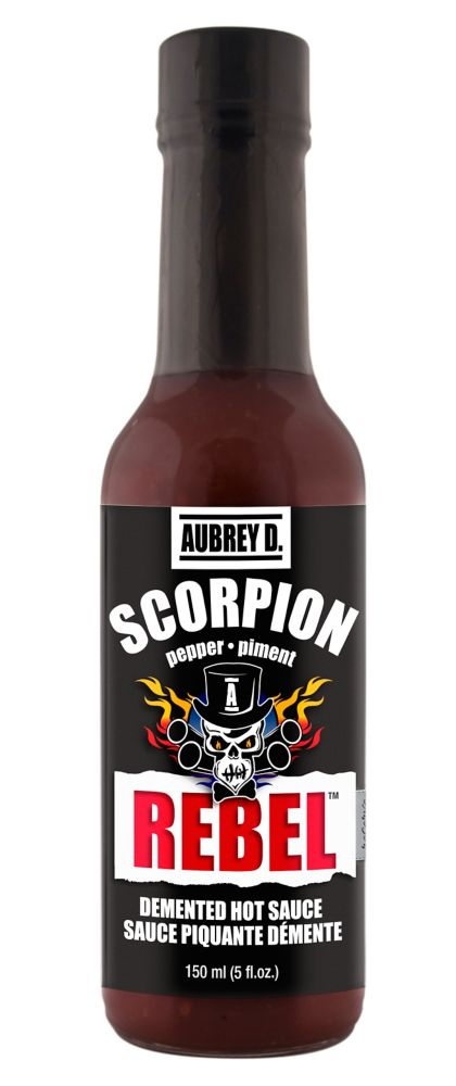 Sauce piquante Scorpion Rebel