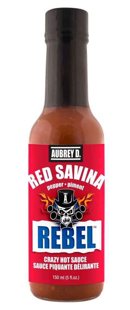 Sauce piquante Red Savina Rebel