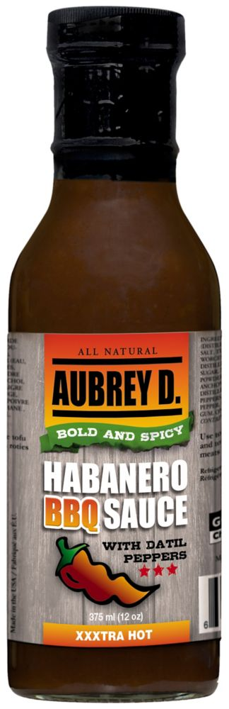 Habanero BBQ Sauce with Datil Peppers