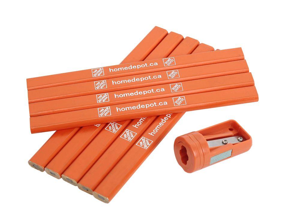 THD 10-Piece Carpenter Pencils