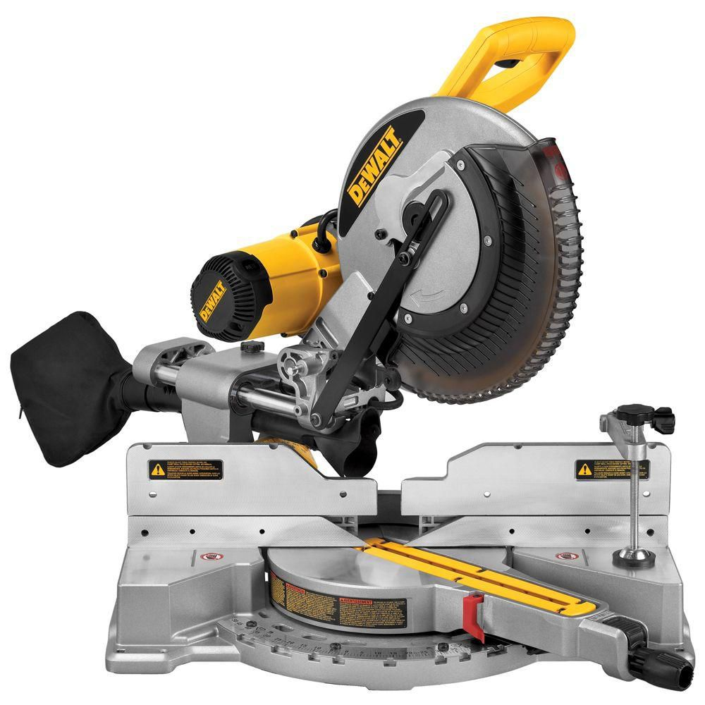 15-Amp 12-Inch Dual Bevel Sliding Compound Miter Saw