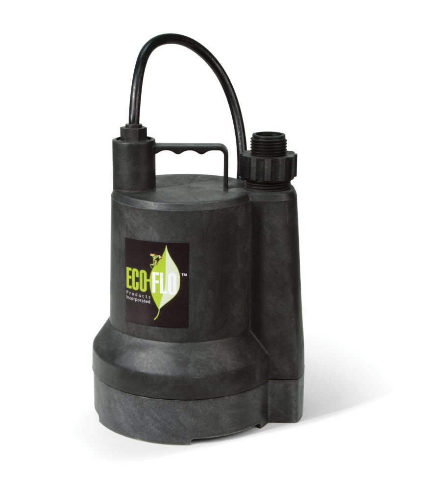 Submersible Utility Pump, 1/6HP