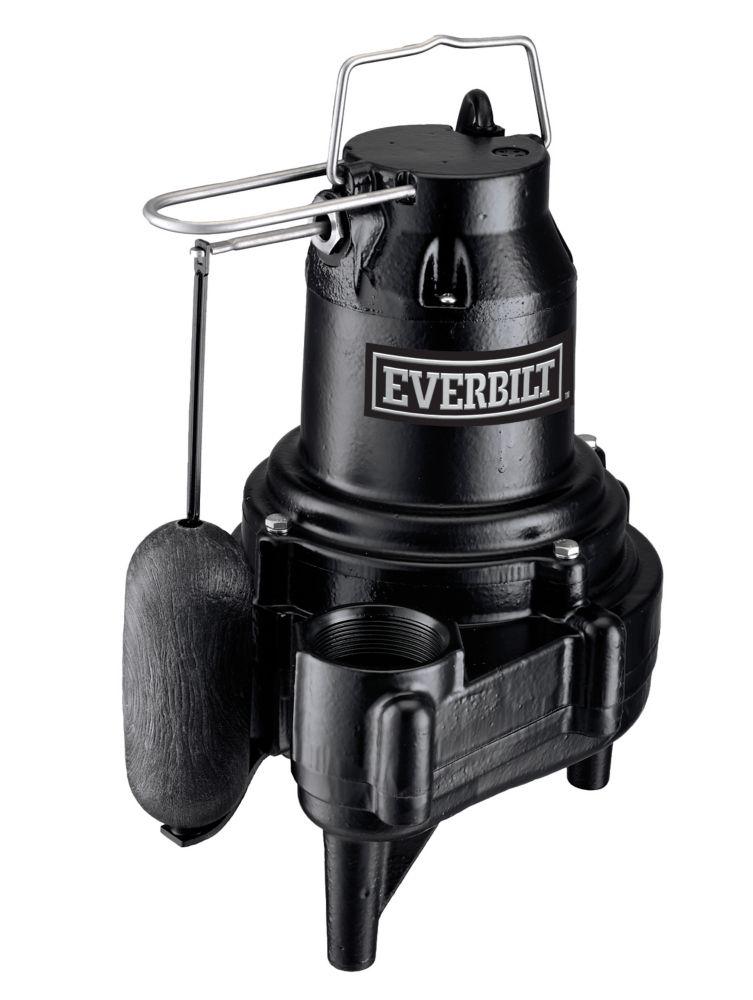 1/2HP Heavy Duty Sewage Pump