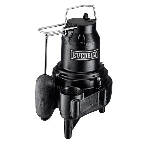 Everbilt 1/2 HP Heavy-Duty Sewage Pump
