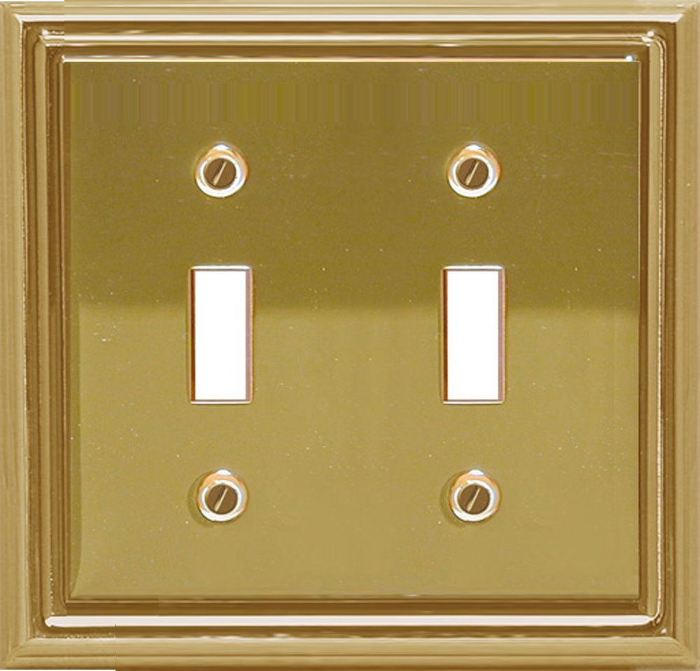 Estate Brass Double Toggle