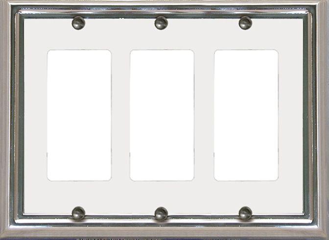 Estate Chrome / White Triple Rocker