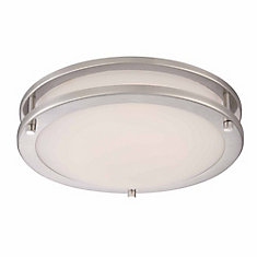 12-inch LED Flushmount in Brushed Nickel