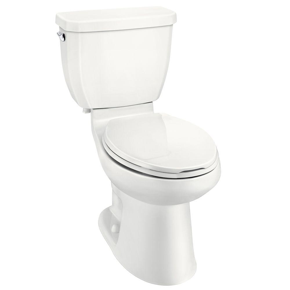 GLACIER BAY All-in-One 3.8 LPF Single Flush Toilet
