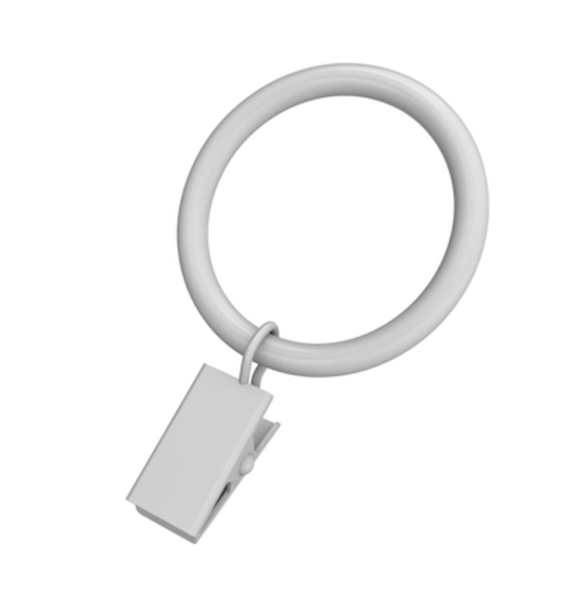 Clip Ring 1-1/4 Inch White