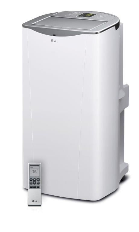 Smart 14,000 BTU Portable Air Conditioner With Wi-Fi And Remote Control