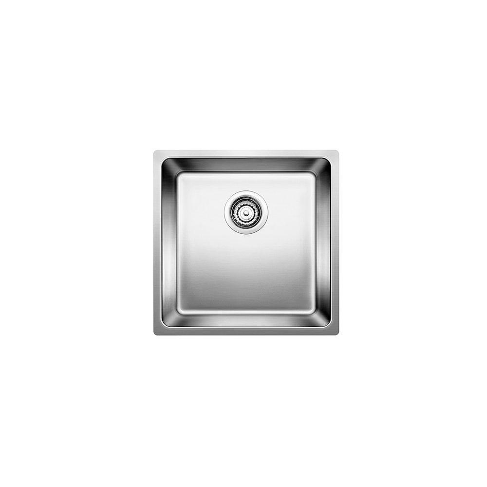 Andano U Small Single Stainless Steel Undermount Sink