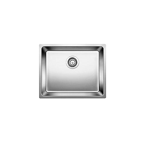 Andano U Medium Single Stainless Steel Undermount Sink