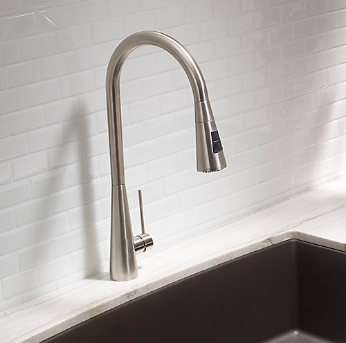 Blanco Ice Faucet - Dual Spray - Stainless Steel | The Home Depot Canada