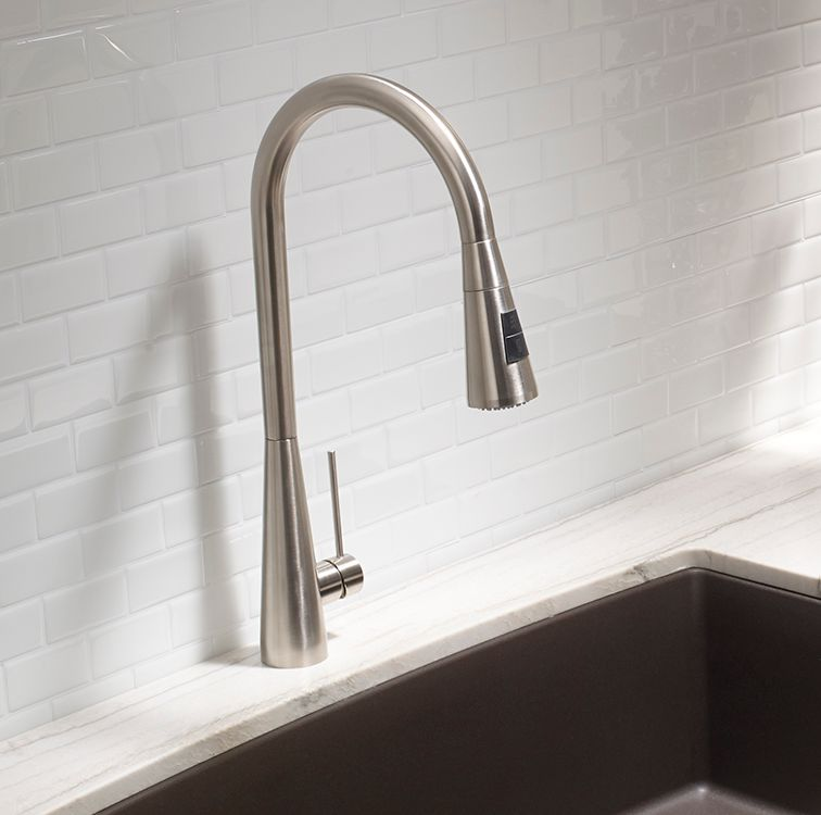 Ice Faucet - Dual Spray - Stainless Steel