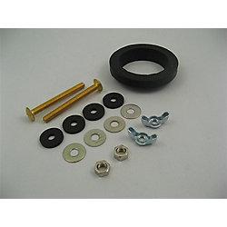 Jag Plumbing Products Standard Tank to Bowl Kit
