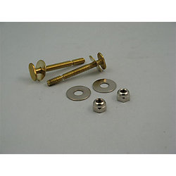 Jag Plumbing Products Contractor Pack:  Johni-Bolt Style Closet Bolts (1/4 in. x 2-1/4 in.)