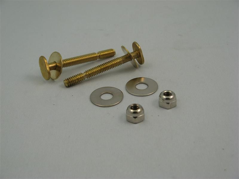 Contractor Pack:  Johni-Bolt Style Closet Bolts (1/4 in. x 2-1/4 in.)