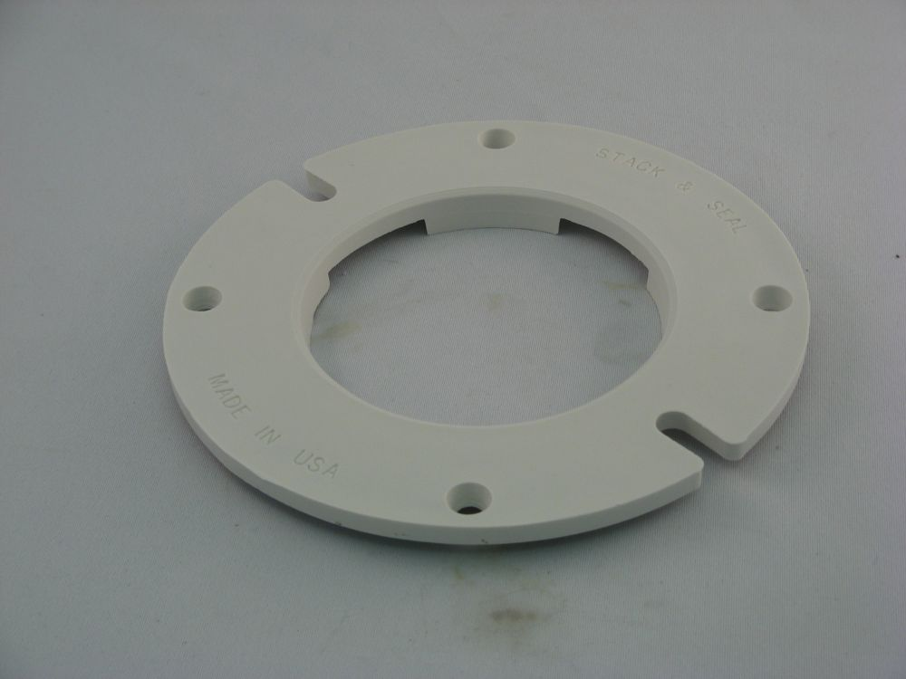 Contractor Pack:  Stack and Seal floor flanges (6 Pack)