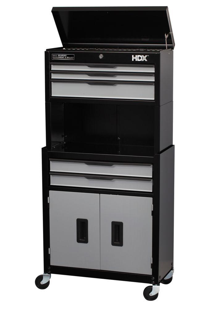 5 Dr Tool Chest Cabinet Combo WRiser C 105BRDV1 Canada Discount CanadaHardw