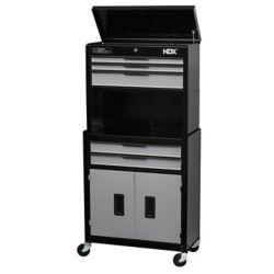 HDX 5 Dr Tool Chest Cabinet Combo wRiser