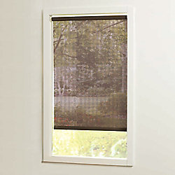 Home Decorators Collection 37 in x72in Brown Cut-to-Size Solar shades