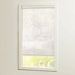 Home Decorators Collection 37 in x72in White Cut-to-Size Solar shades