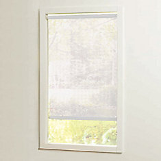 37 in x72in White Cut-to-Size Solar shades