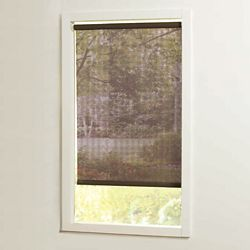 Home Decorators Collection 55 in x72in Brown Cut-to-Size Solar shades