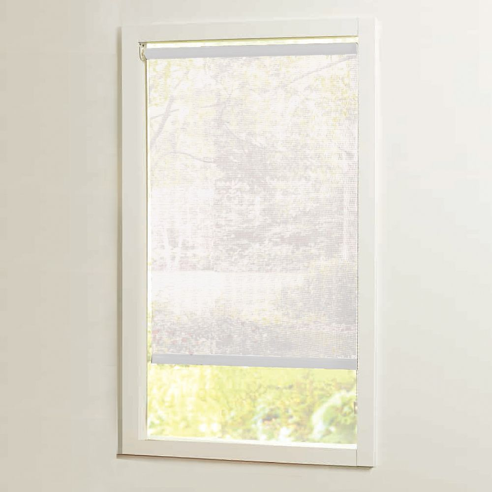 73 in x72in White Cut-to-Size Solar shades