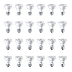 Philips LED 50W Par20 Bright White (3000K) - Case of 24 Bulbs - ENERGY STAR®