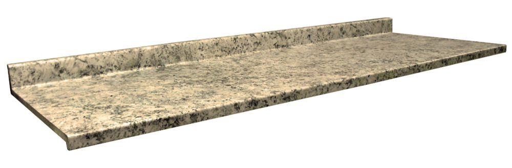 Kitchen Countertop, Profile 2700, Typhoon Ice 4952-22, 25.5 In. x 48 In.