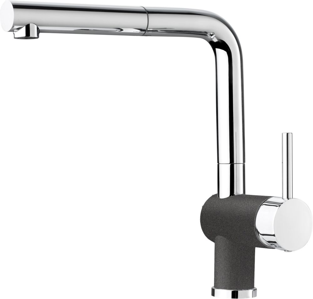 Posh, Pull Out, Single Spray Faucet, Cinder