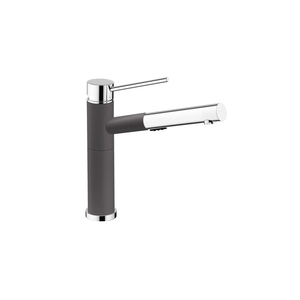 Alta, Pull Out, Dual Spray Faucet, Chrome/Cinder SOP1433 in Canada