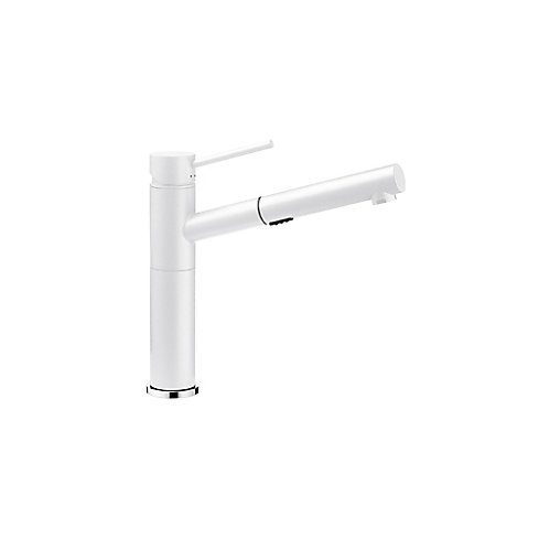 Blanco Alta, Pull Out, Dual Spray Faucet, White | The Home Depot Canada