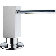 Quatris II Soap Dispenser in Stainless Steel