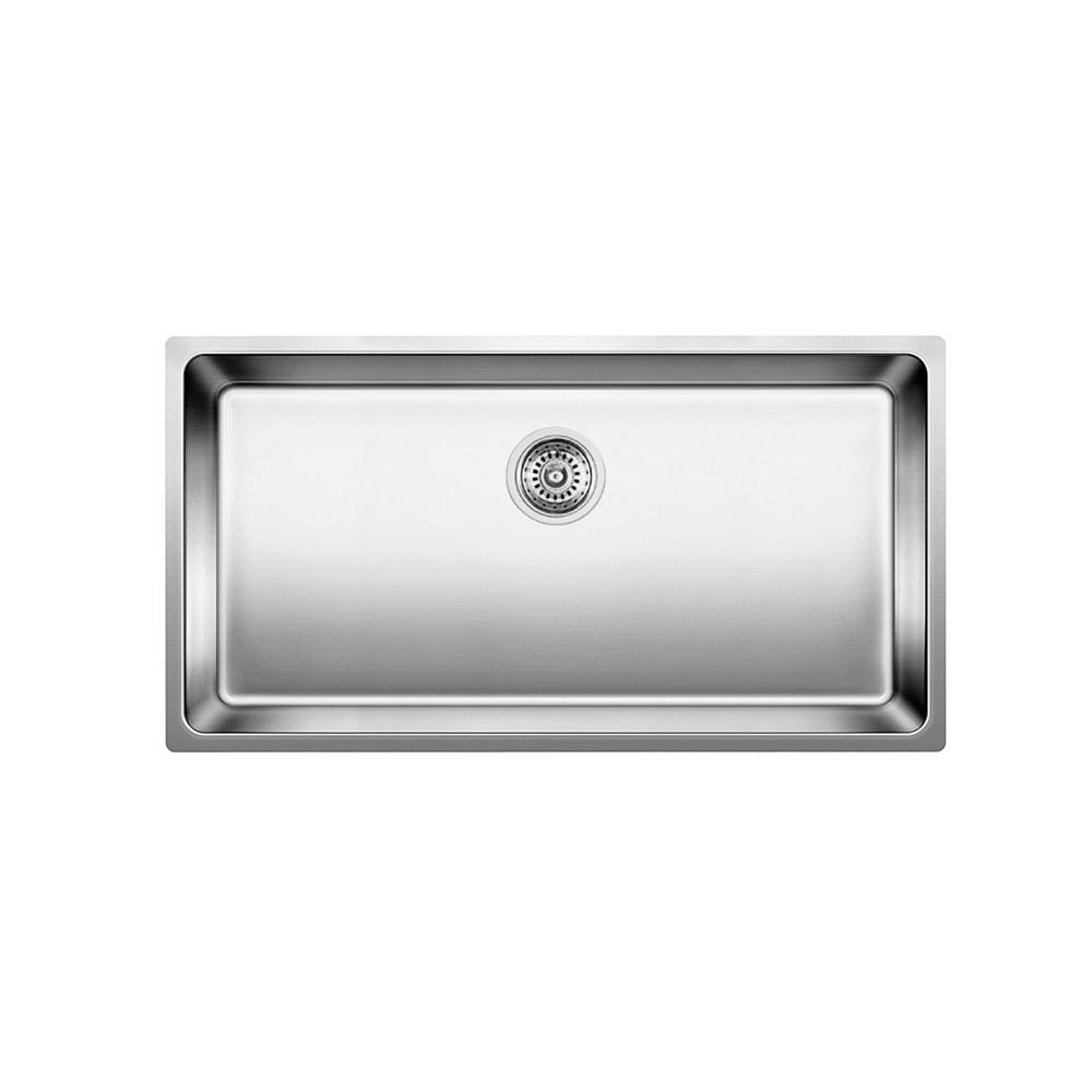 Andano Super Single, Stainless Steel Sink Undermount