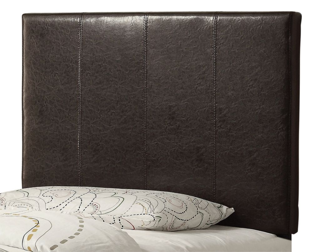 Volt 39 Inch Twin Headboard Only-Brown