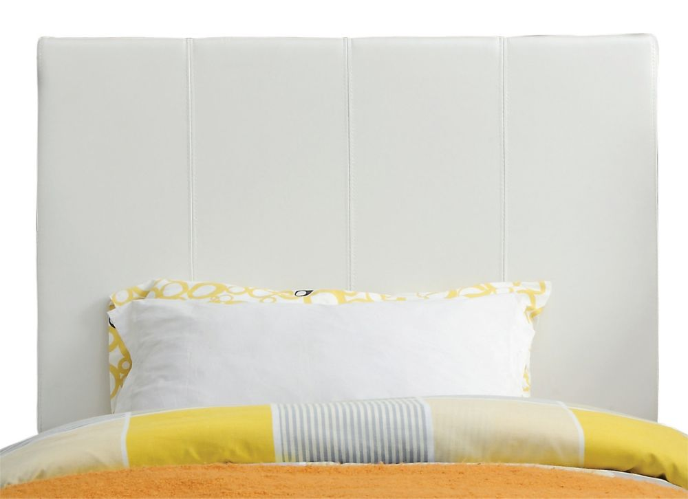 Volt 39 Inch Twin Headboard Only-White