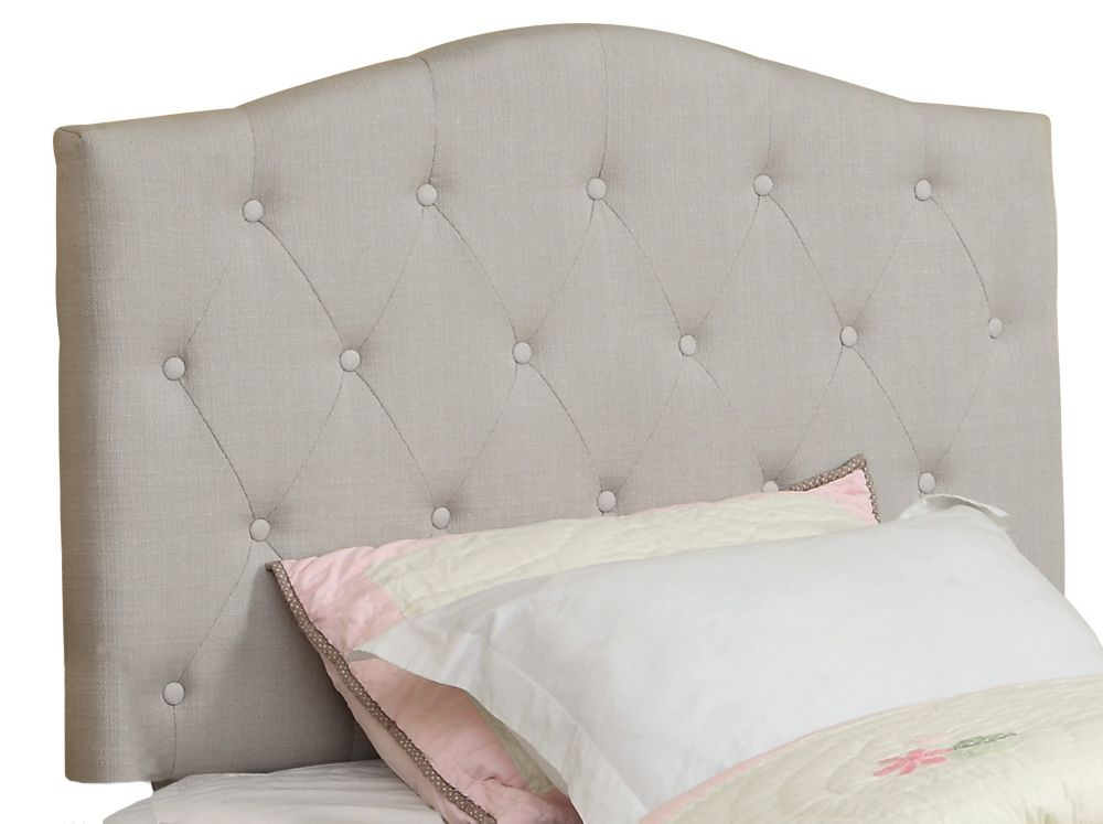 Grace 39 Inch Twin Headboard Only-Natural Linen