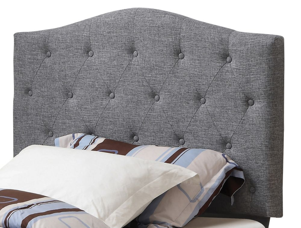 Grace 39 Inch Twin Headboard Only-Grey