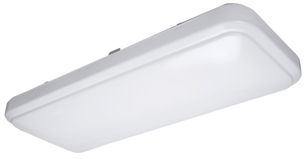 Hampton Bay 2 ft. LED Linear Flushmount Ceiling Light Fixture - ENERGY STAR®