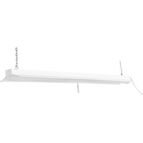 4000K 4 ft. 64-Watt Equivalent Integrated LED White Linkable Shop Light