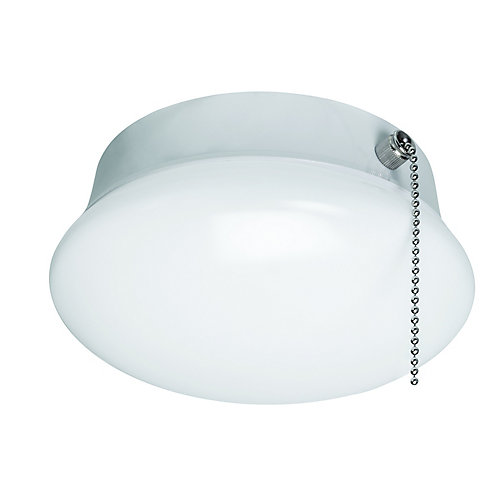 7-inch Integrated LED Flushmount Ceiling Light Fixture in White - ENERGY STAR®