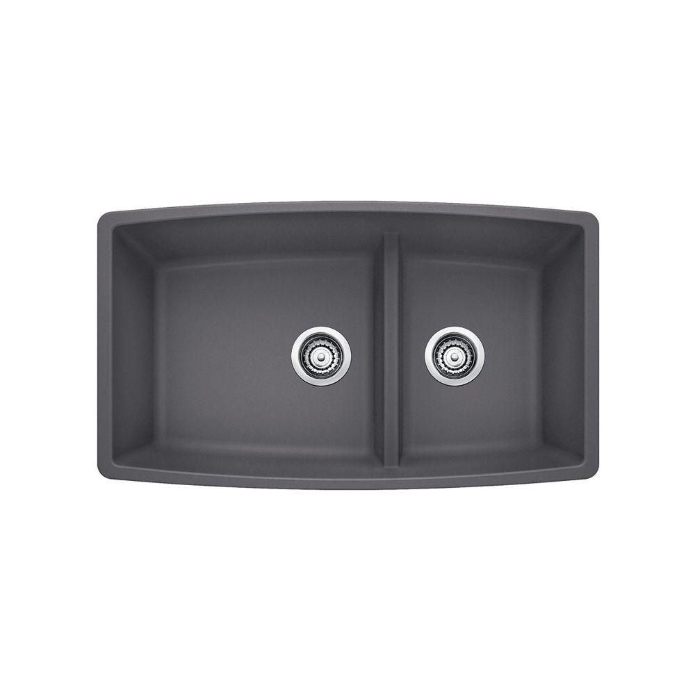 Performa U 1.75 Cinder Silgranit Sink